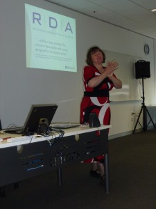 Renate talks about RDA