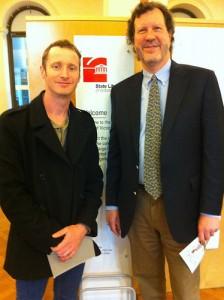 Alan Manifold and Ben Chadwick