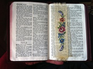 Bible Bookmark by George Redgrave CC-by-nd