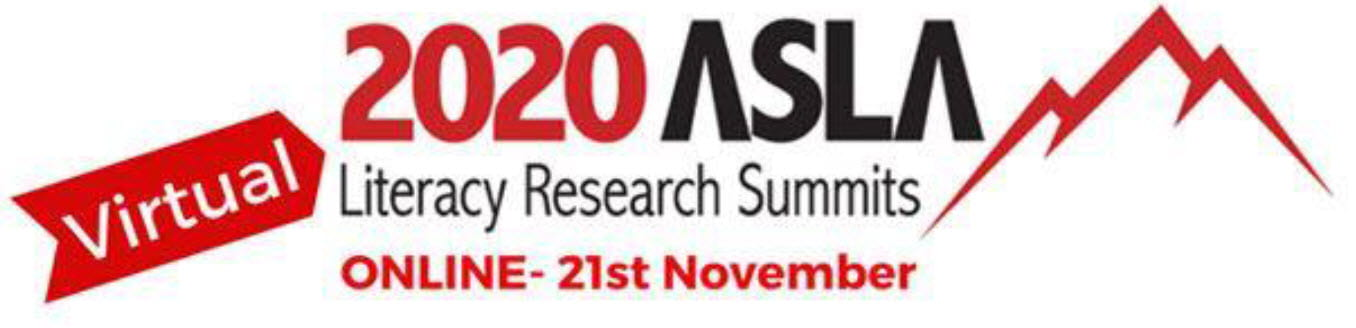 Logo: ASLA 2020 National Literacy Research Summit
