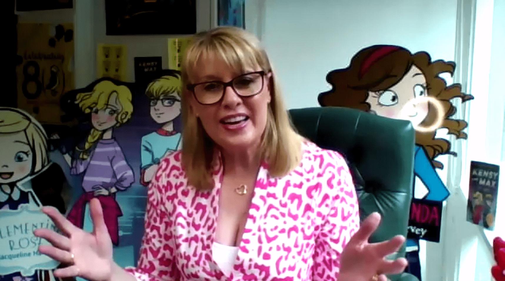 Author Jacqueline Harvey speaking about Australia Reads 2020