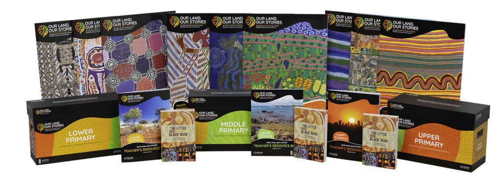 Components of the landmark resource package, Our Land, Our Stories