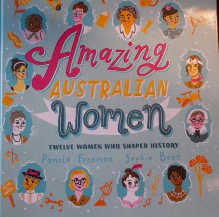 Pamela Freeman and Sophie Beer, Amazing Australian Women: Twelve Women Who Shaped History