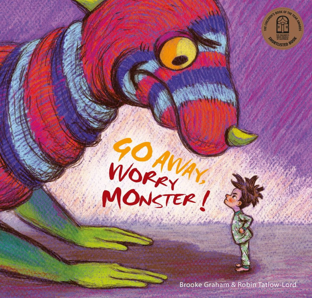 Book: Go Away worry monster